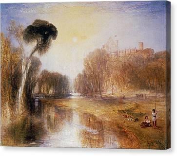 Schloss Rosenau Canvas Print by Joseph Mallord William Turner