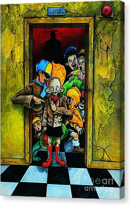 School Days II Canvas Print by Spencer Bower