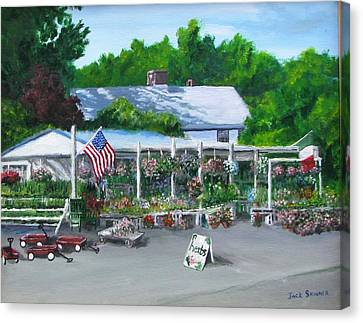 Scimone's Farm Stand Canvas Print by Jack Skinner