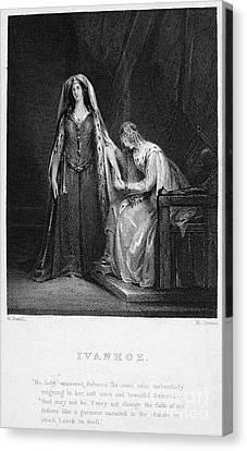 Scott: Ivanhoe, 1832 Canvas Print by Granger