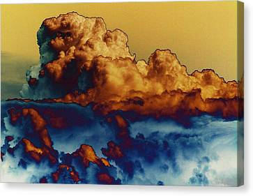 Sea And Sky Canvas Print by One Rude Dawg Orcutt