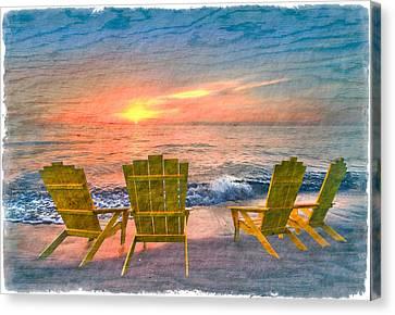 Sea Dreams II Canvas Print by Debra and Dave Vanderlaan