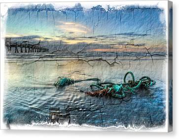 Sea Knot Canvas Print by Debra and Dave Vanderlaan
