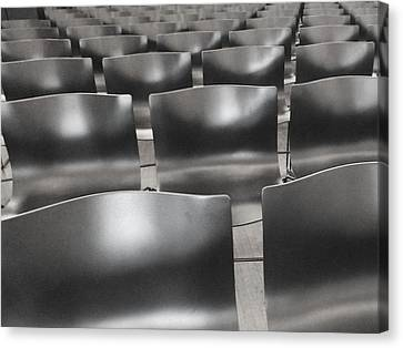 Sea Of Seats I Canvas Print by Anna Villarreal Garbis