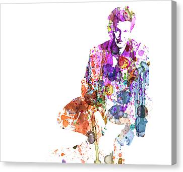 Sean Penn Canvas Print by Naxart Studio