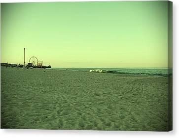 Seaside Park II - Jersey Shore Canvas Print by Angie Tirado