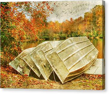 Seasons End Canvas Print by Darren Fisher