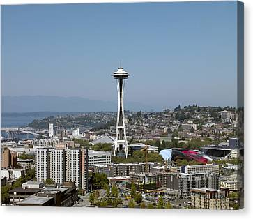 Seattle: Cityscape, 2009 Canvas Print by Granger