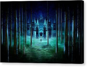 Secret Castle Canvas Print by Svetlana Sewell