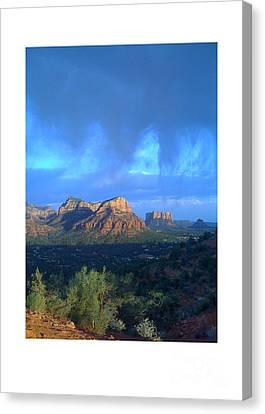 Sedona Clouds Canvas Print by Nina Prommer