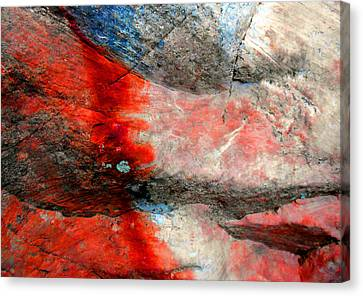 Sedona Red Rock Zen 2 Canvas Print by Peter Cutler