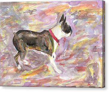 See Gull Canvas Print by Arthur Rice