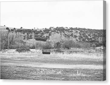 Segovia Gate Canvas Print by Ariane Moshayedi