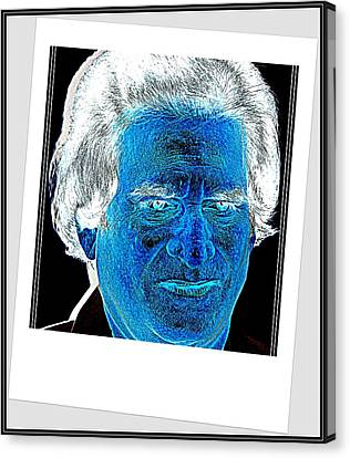 Self Portrait-5 Canvas Print by Anand Swaroop Manchiraju