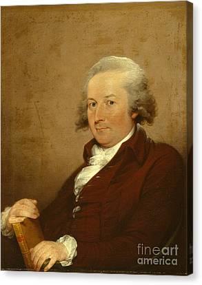 Self-portrait Canvas Print by John Trumbull