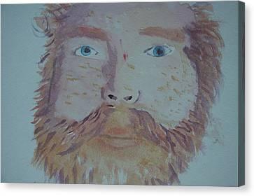 Self Portrait Canvas Print by Jonathan Kotinek