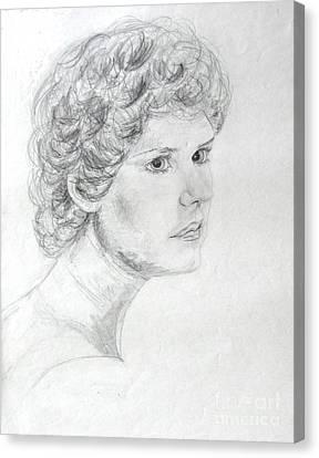 Self Portrait Canvas Print by Julie Coughlin