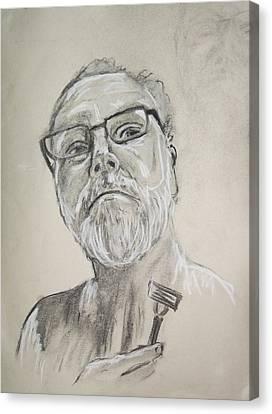 Self Portrait Canvas Print by Peter Edward Green