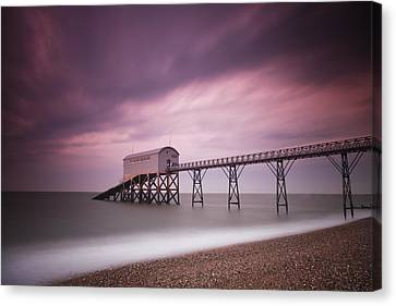 Selsey Lifeboat Station Canvas Print by Nina Papiorek