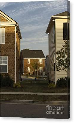 Separation Between Homes Canvas Print by Roberto Westbrook