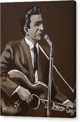 Sepia Johnny Canvas Print by Pete Maier