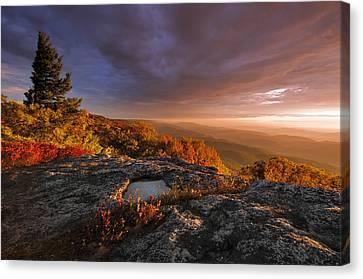 September Dawn Canvas Print by Joseph Rossbach