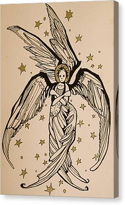 Seraphim Canvas Print by Jackie Rock