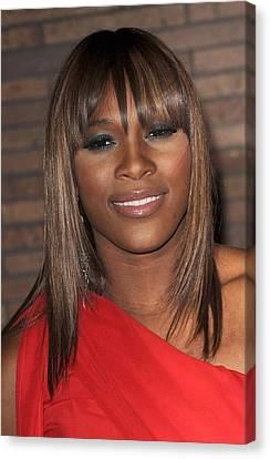 Serena Williams At Arrivals For Glamour Canvas Print by Everett