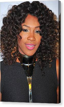 Serena Williams At Arrivals For Keep Canvas Print by Everett
