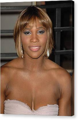 Serena Williams At Arrivals For Vanity Canvas Print by Everett