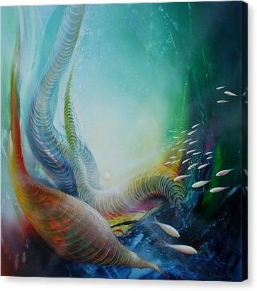 Serpula Spiralis Canvas Print by Drazen Pavlovic