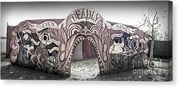 Seven Deadly Sins Canvas Print by Gregory Dyer