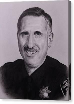 Sgt. Weaver Canvas Print by Patrick Entenmann