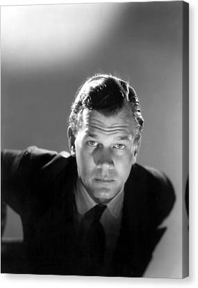 Shadow Of A Doubt, Joseph Cotten, 1943 Canvas Print by Everett