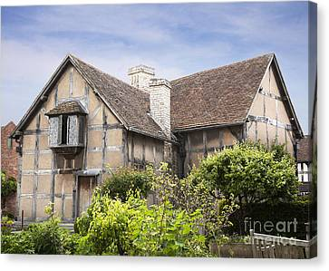 Shakespeare's Birthplace. Canvas Print by Jane Rix