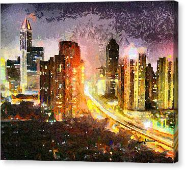 Shanghai Canvas Print by Anthony Caruso