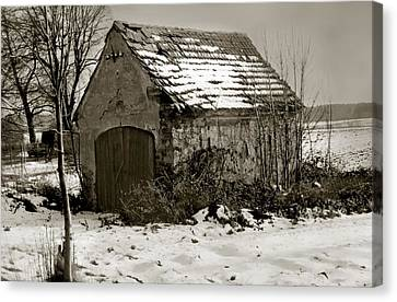 Shed Canvas Print by Marcin and Dawid Witukiewicz
