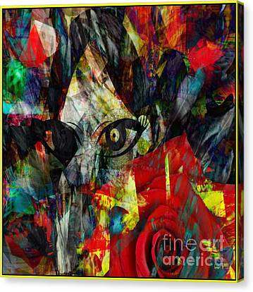 Shedding Skin Or Memories Canvas Print by Fania Simon