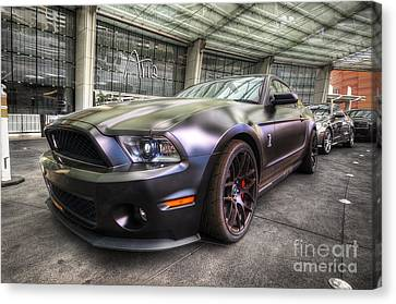 Shelby Gt500kr Canvas Print by Yhun Suarez