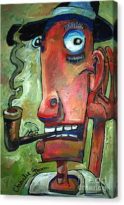 Shhhhhhhh Canvas Print by Charlie Spear