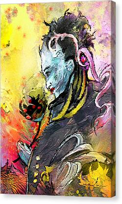 Shiva Diva Canvas Print by Miki De Goodaboom