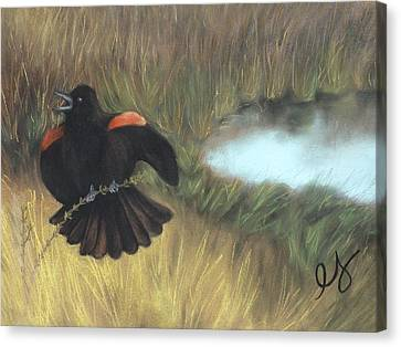 Show-off Canvas Print by Estephy Sabin Figueroa