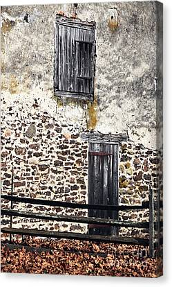 Side Entrance Canvas Print by John Rizzuto