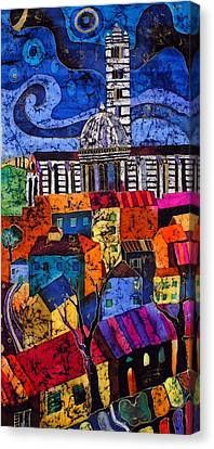 Siena Canvas Print by Sandra Kern