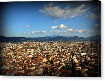 Siena Scenery Canvas Print by Kevin Flynn