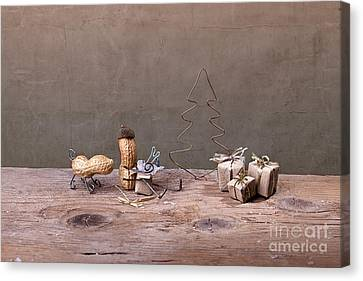 Simple Things - Christmas 06 Canvas Print by Nailia Schwarz