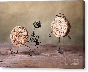 Simple Things 06 Canvas Print by Nailia Schwarz