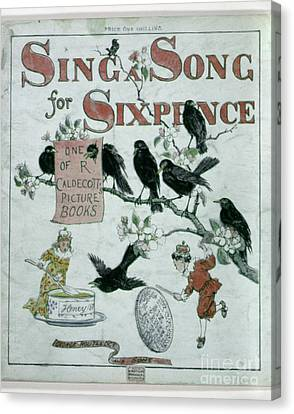 Sing A Song Of Sixpence Canvas Print by Granger
