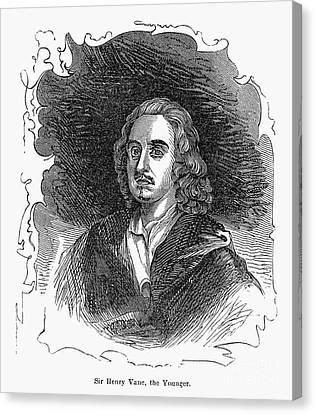 Sir Henry Vane (1613-1662) Canvas Print by Granger