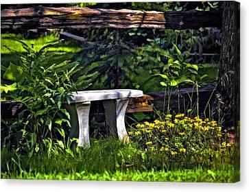 Sit A Spell Canvas Print by Steve Harrington